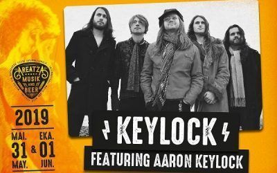 TRAVELLING ROCK & ROLL CIRCUS KEYLOCK, FEATURING AARON KEYLOCK